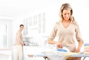 Les prestations de menage repassage avec une femme de ménage à domicile
