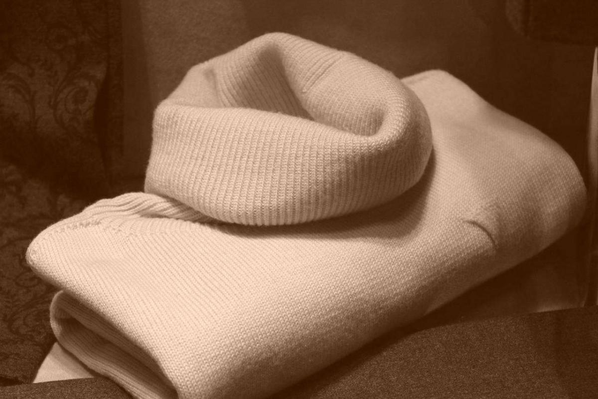 Repasser un pull en laine