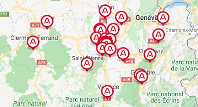 agences azaé en Rhone Alpes